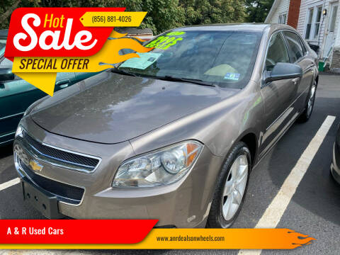 2012 Chevrolet Malibu for sale at A & R Used Cars in Clayton NJ