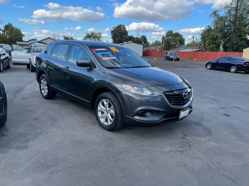 2015 Mazda CX-9 for sale at Mega Motors Inc. in Stockton CA