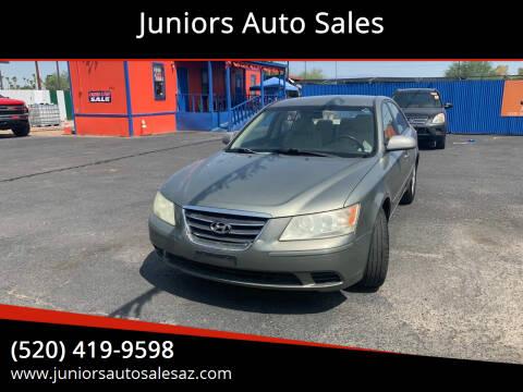 2009 Hyundai Sonata for sale at Juniors Auto Sales in Tucson AZ