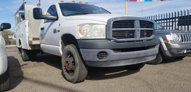 2008 Dodge Ram Chassis 3500 for sale at Hotline 4 Auto in Tucson AZ