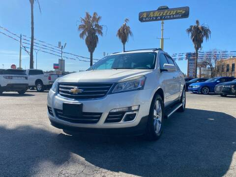 2014 Chevrolet Traverse for sale at A MOTORS SALES AND FINANCE in San Antonio TX