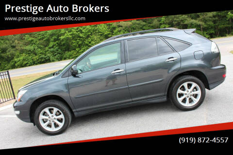 2009 Lexus RX 350 for sale at Prestige Auto Brokers in Raleigh NC