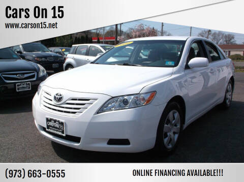 2009 Toyota Camry for sale at Cars On 15 in Lake Hopatcong NJ