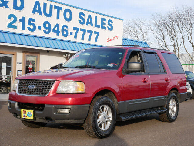 2003 Ford Expedition for sale at B & D Auto Sales Inc. in Fairless Hills PA