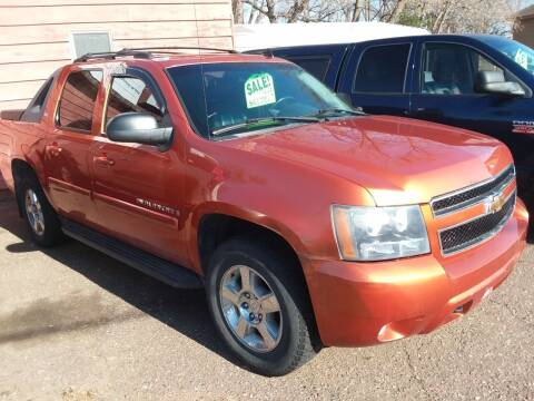 2007 Chevrolet Avalanche for sale at Sunrise Auto Sales in Stacy MN