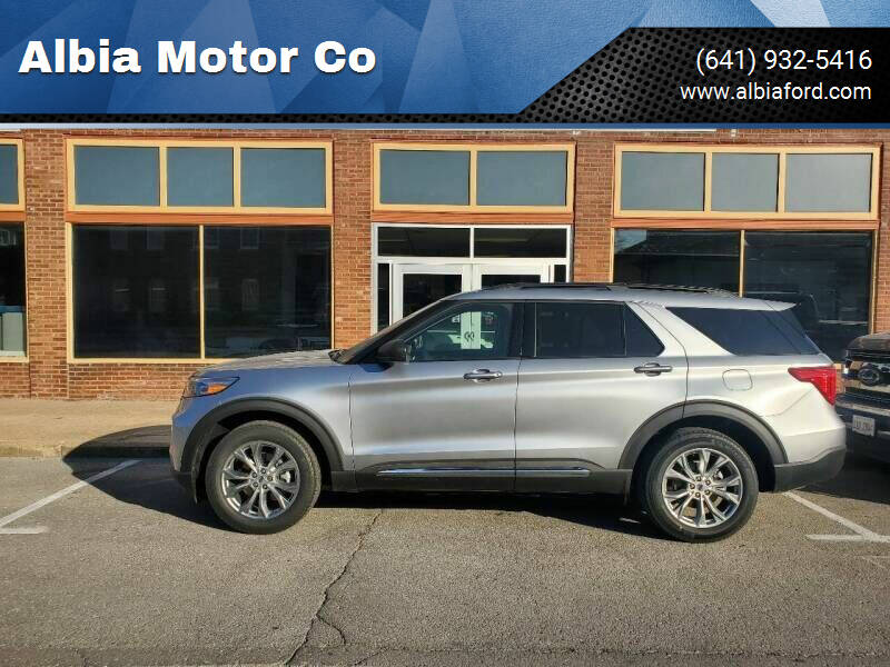 2020 Ford Explorer for sale at Albia Motor Co in Albia IA