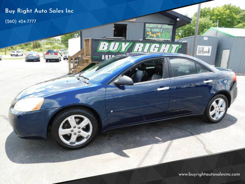 2008 Pontiac G6 for sale at Buy Right Auto Sales Inc in Fort Wayne IN