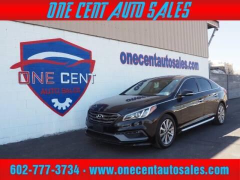 2016 Hyundai Sonata for sale at One Cent Auto Sales in Glendale AZ