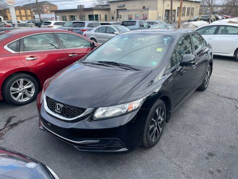 2013 Honda Civic for sale at Butler Auto in Easton PA
