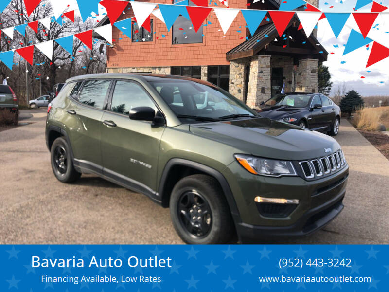 2019 Jeep Compass for sale at Bavaria Auto Outlet in Victoria MN