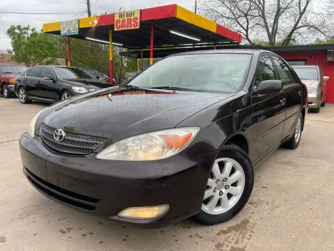 2003 Toyota Camry for sale at Cash Car Outlet in Mckinney TX
