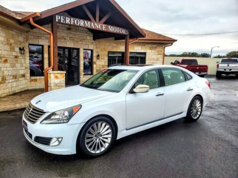2014 Hyundai Equus for sale at Performance Motors Killeen Second Chance in Killeen TX