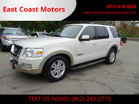 2008 Ford Explorer for sale at East Coast Motors in Lake Hopatcong NJ