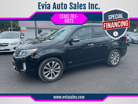 2015 Kia Sorento for sale at Evia Auto Sales Inc. in Glens Falls NY