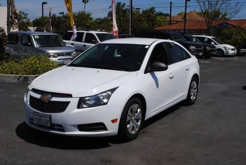 2014 Chevrolet Cruze for sale at MIKE AHWAZI in Santa Ana CA