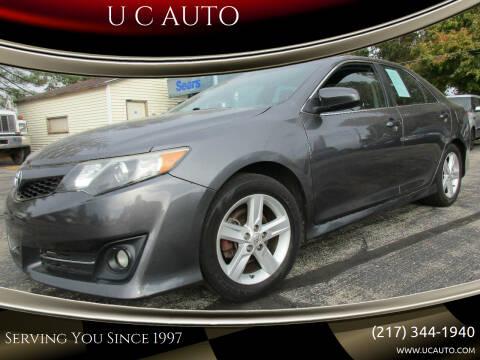 2014 Toyota Camry for sale at U C AUTO in Urbana IL