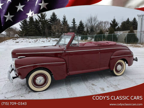 1941 Ford Super Deluxe for sale at Cody's Classic Cars in Stanley WI