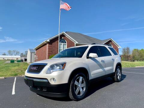 2012 GMC Acadia for sale at HillView Motors in Shepherdsville KY