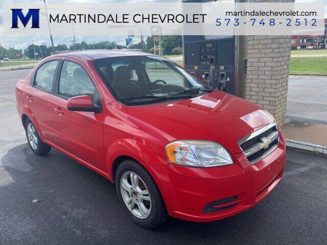 2011 Chevrolet Aveo for sale at MARTINDALE CHEVROLET in New Madrid MO