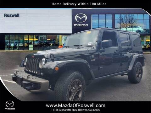 2017 Jeep Wrangler Unlimited for sale at Mazda Of Roswell in Roswell GA
