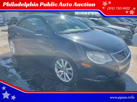 2007 Volkswagen Eos for sale at Philadelphia Public Auto Auction in Philadelphia PA