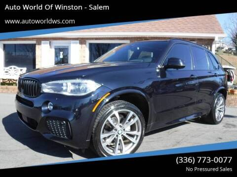 2015 BMW X5 for sale at Auto World Of Winston - Salem in Winston Salem NC