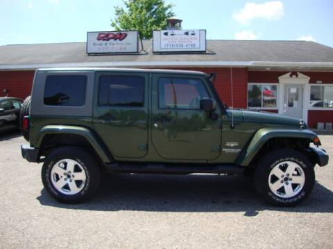 2008 Jeep Wrangler Unlimited for sale at G and G AUTO SALES in Merrill WI