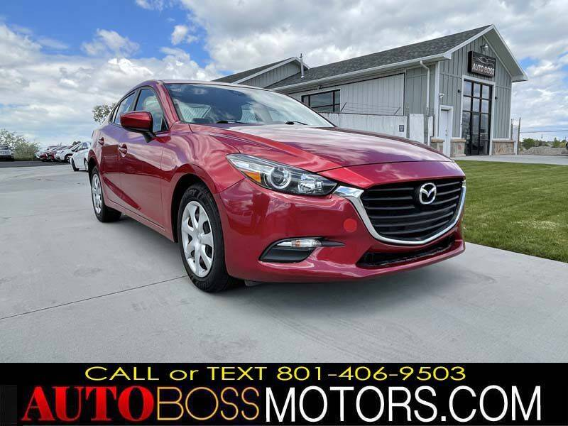 2018 Mazda MAZDA3 for sale at Auto Boss in Woods Cross UT