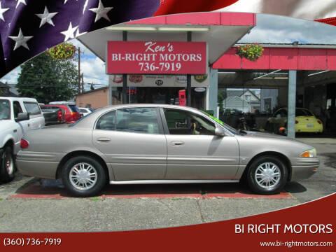 2003 Buick LeSabre for sale at Bi Right Motors in Centralia WA