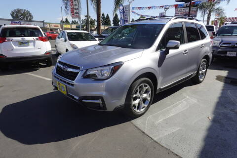 2017 Subaru Forester for sale at CARSTER in Huntington Beach CA