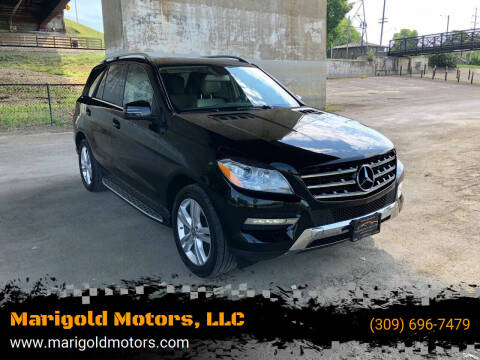 2013 Mercedes-Benz M-Class for sale at Marigold Motors, LLC in Pekin IL