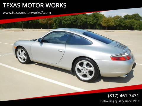 1999 Porsche 911 for sale at TEXAS MOTOR WORKS in Arlington TX