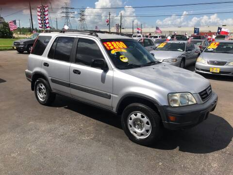 2001 Honda CR-V for sale at Texas 1 Auto Finance in Kemah TX
