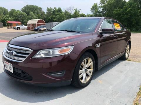 2011 Ford Taurus for sale at Triple R Sales in Lake City MN