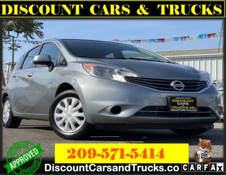 2014 Nissan Versa Note for sale at Discount Cars & Trucks in Modesto CA