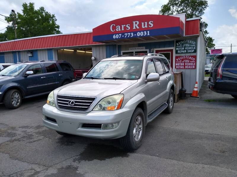 2004 Lexus GX 470 for sale at Cars R Us in Binghamton NY