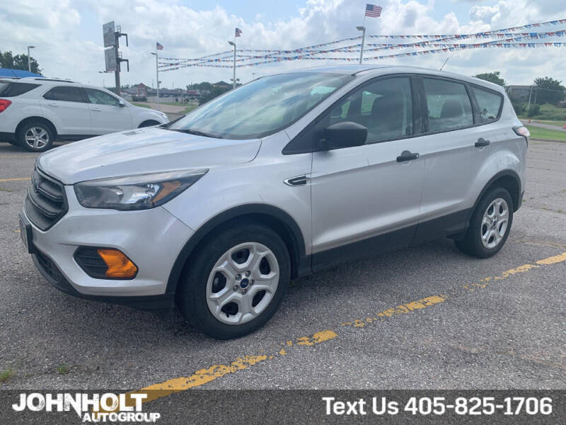 2018 Ford Escape for sale at JOHN HOLT AUTO GROUP, INC. in Chickasha OK