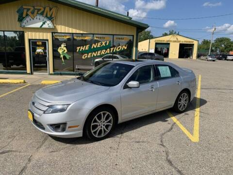 2012 Ford Fusion for sale at RPM AUTO SALES in Lansing MI