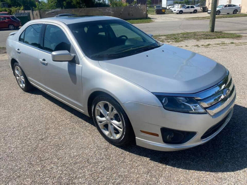 2012 Ford Fusion for sale at Two Rivers Auto Sales Corp. in South Bend IN