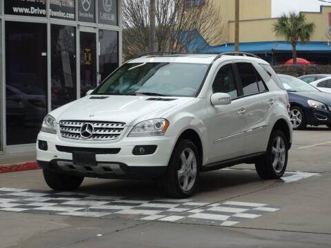 2008 Mercedes-Benz M-Class for sale at Drive Town in Houston TX