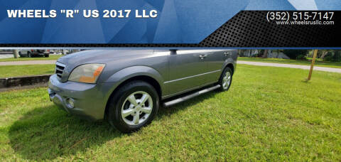 "2007 Kia Sorento for sale at WHEELS ""R"" US 2017 LLC in Hudson FL"