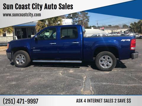 2013 GMC Sierra 1500 for sale at Sun Coast City Auto Sales in Mobile AL