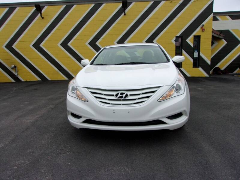2013 Hyundai Sonata for sale at MIRACLE AUTO SALES in Cranston RI