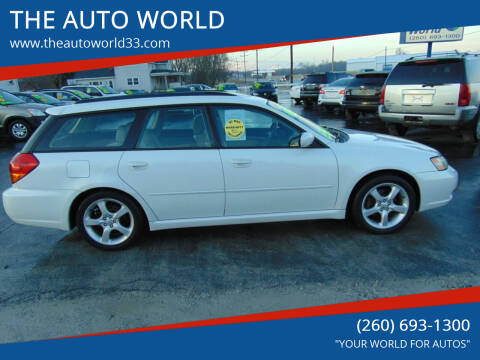 2006 Subaru Legacy for sale at THE AUTO WORLD in Churubusco IN