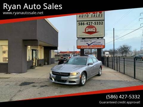 2015 Dodge Charger for sale at Ryan Auto Sales in Warren MI
