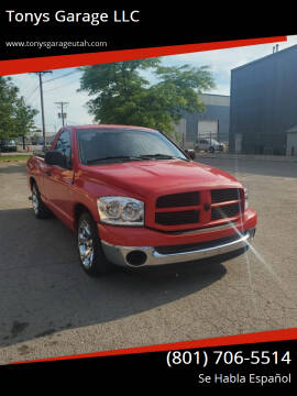 2007 Dodge Ram Pickup 1500 for sale at Tonys Garage LLC in Murray UT