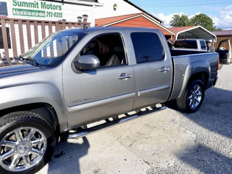 2009 GMC Sierra 1500 for sale at Summit Motors LLC in Morgantown WV