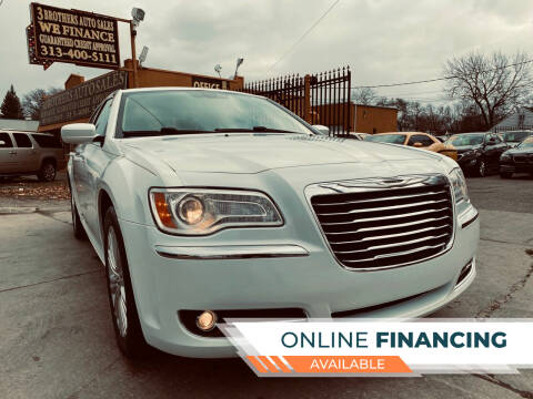 2013 Chrysler 300 for sale at 3 Brothers Auto Sales Inc in Detroit MI