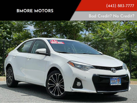 2016 Toyota Corolla for sale at Bmore Motors in Baltimore MD