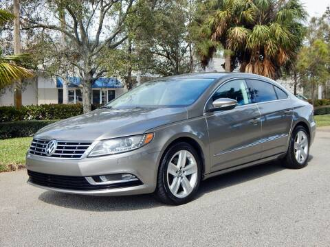 2014 Volkswagen CC for sale at VE Auto Gallery LLC in Lake Park FL